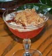 Rhubarb Crisp Lite